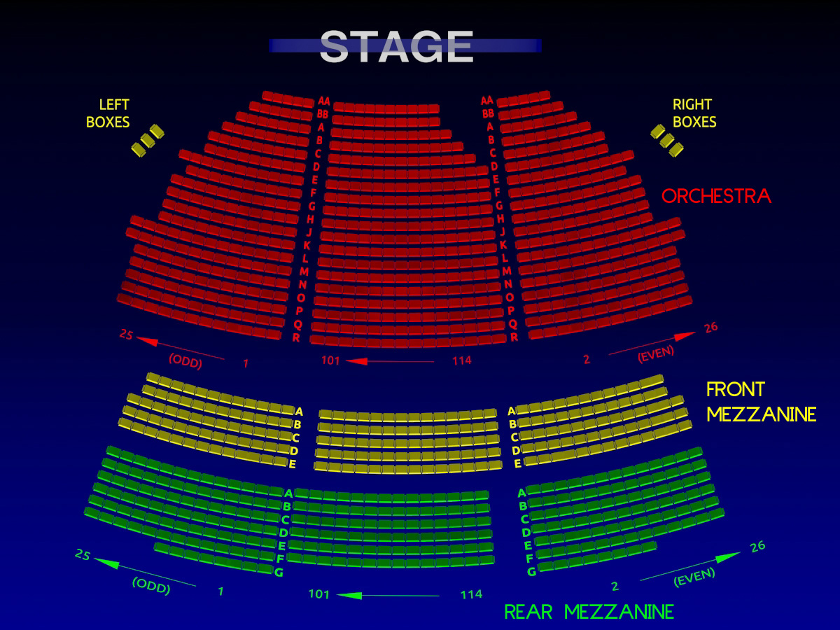 Ethel Barrymore Theatre Broadway Seating Chart History