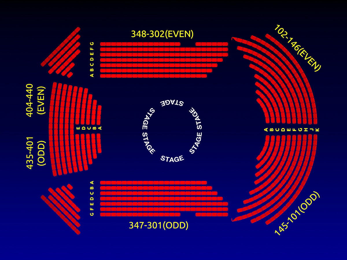 circle in the square theatre broadway seating chart info