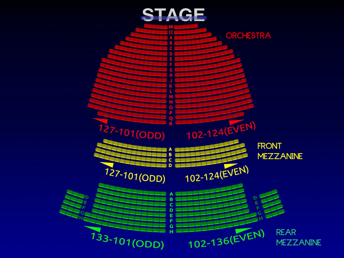 John golden theatre 3 d broadway seating chart history broadway