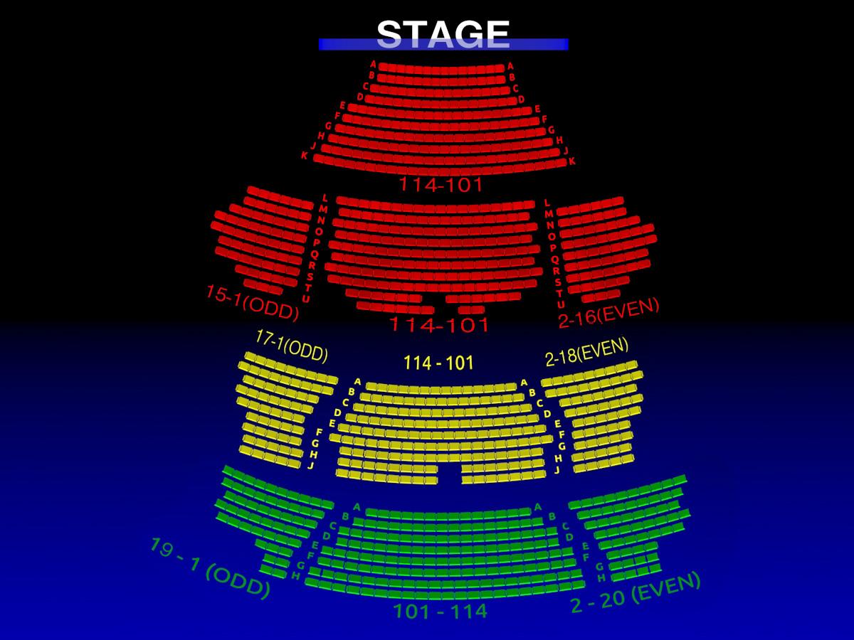 The Hudson Theatre Broadway Scene
