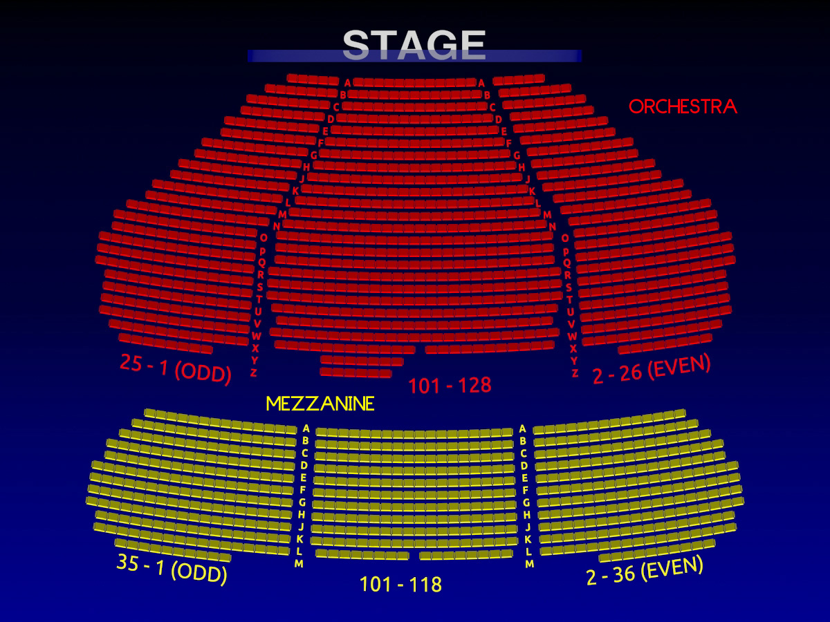 Winter Garden Theater Nyc Seating Chart Best Idea Garden 2018