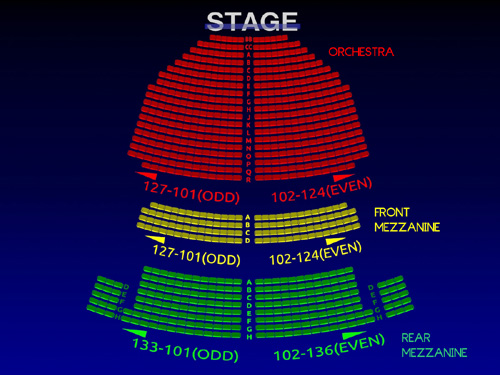 John Golden Theatre 3 D Broadway Seating Chart History