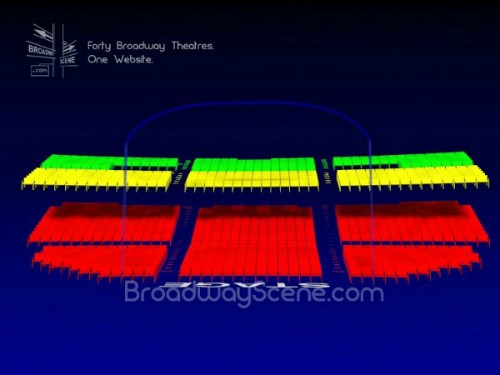 Broadway Seating Chart Richard Rodgers Theatre Seating Map