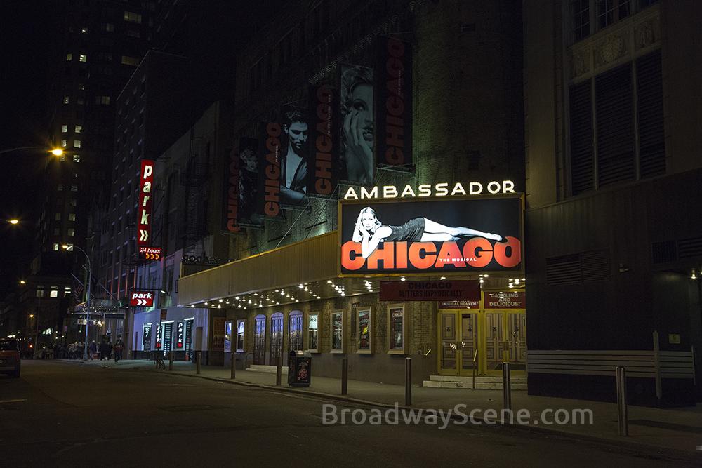 Broadway scene for Broadway plan