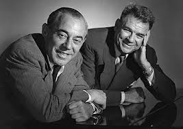 The new team- Rodgers and Hammerstein.