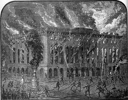 The fire at New York's Academy of Music saved The Black Crook.