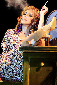 McArdle as Hannigan. The role for which Loudon won a Tony.
