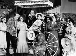 The original cast of Oklahoma!