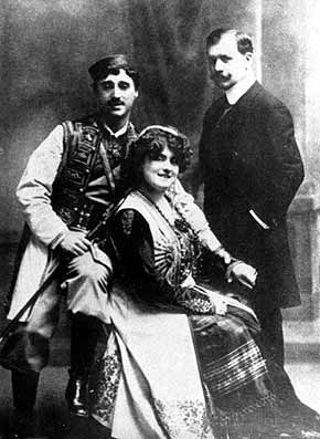 In the early part of the century European operettas like The Merry Widow were big hits. The Princes Musicals were very different.