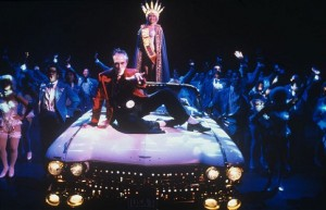 Miss Saigon was one of many big effect musicals that occupied Broadway in the 1980s and 1990s..