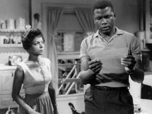 Sidney Poitier and Ruby Dee