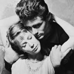 Harris was in East of Eden with James Dean. The two became good friends.