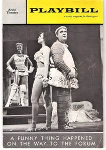Abbott's last major hit would be Sondheim's first as a composer, A Funny Thing Happened on the Way to the Forum.