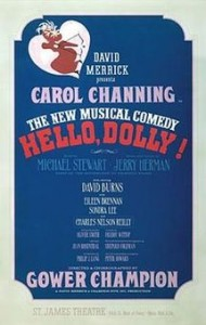The original Hello, Dolly! poster!