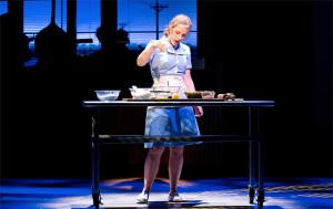 Jessie Mueller in Waitress the Musical