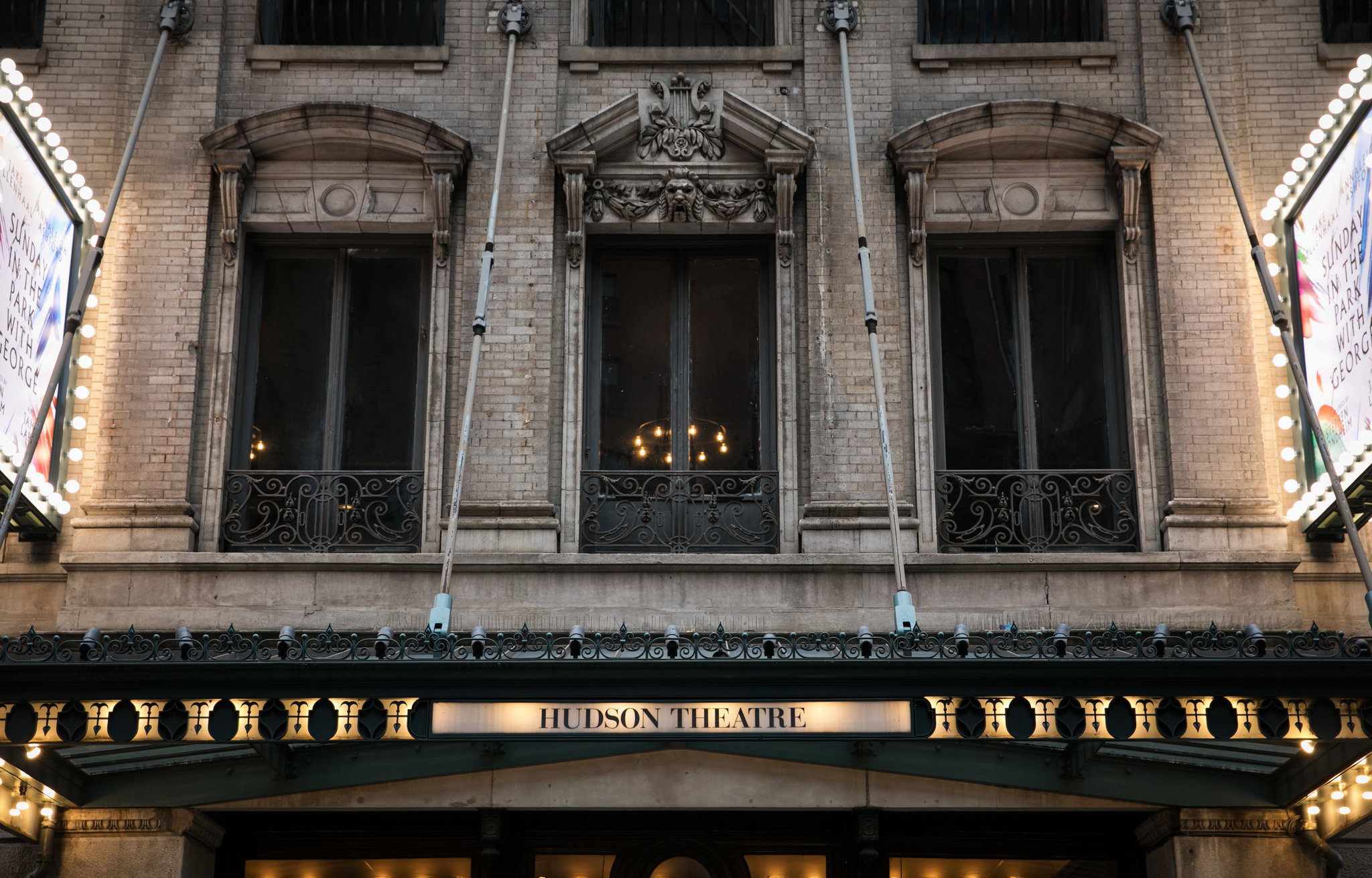 The exterior of the Hudson Theater on 44th Street.CreditTodd Heisler/The New York Times