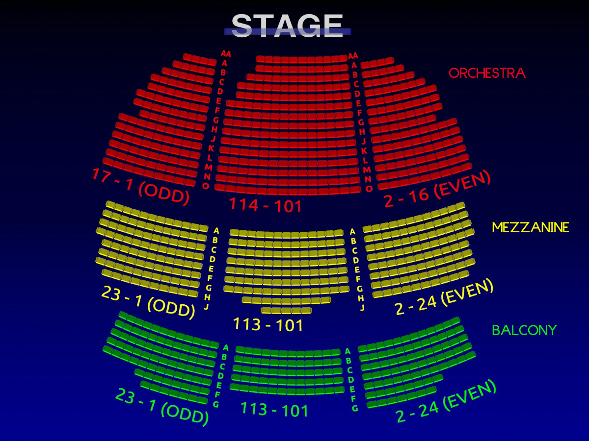 Lyceum Theatre 3 D Broadway Seating