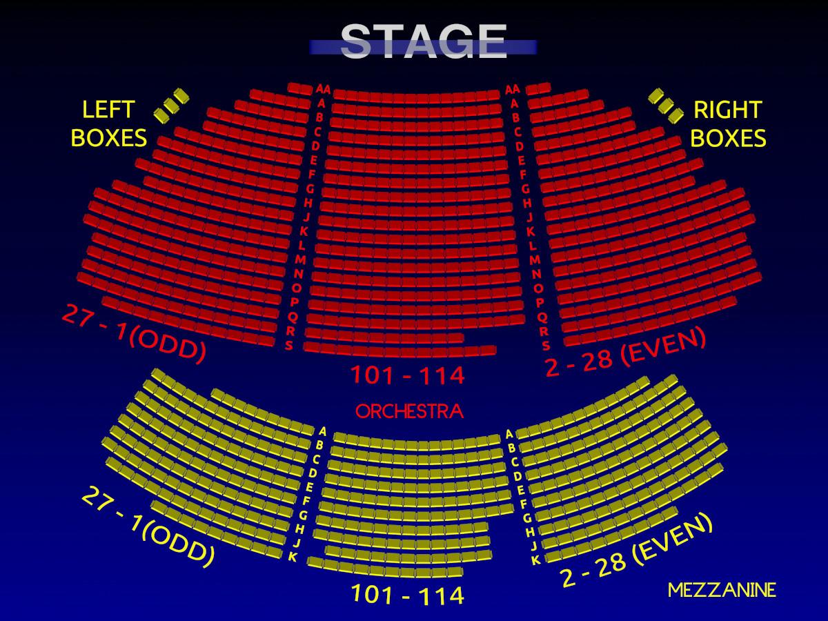 19 Luxury Wa Mu theater Seating Chart