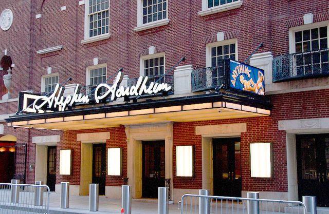 Stephen Sondheim Theatre Interactive Broadway Seating Chart Broadway Scene