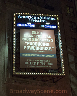 American Airlines Theatre:Broadway seating charts, interactive