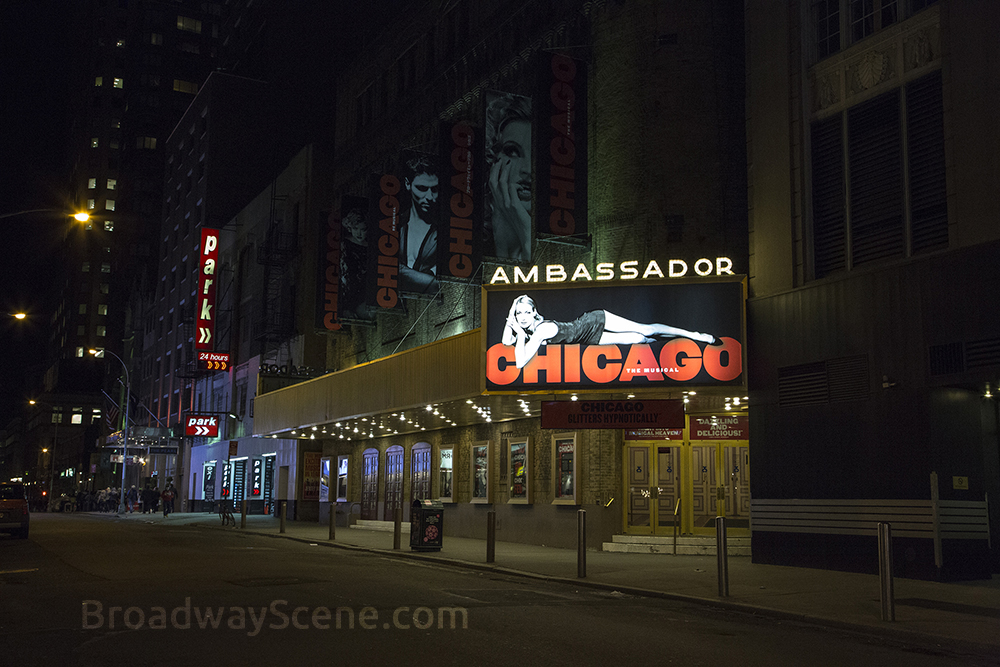 Ambassador Theatre: : Broadway seating charts, interactive