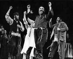 Fiddler on the Roof is considered to be the last great book musical.