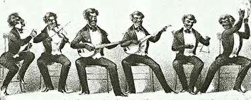 The minstrel show helped reinforce racial stereotypes while offering music with a homegrown feel.