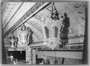 Interior of thE Astor above the proscenium.