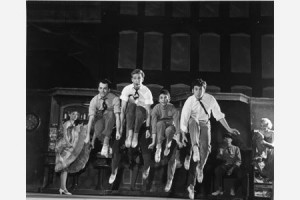 Robbins' choreography was vivid, rich and revealing.