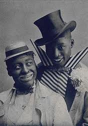 Williams & Walker in the hit show In Dahomey. Williams (left) would headline at the Follies