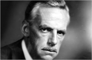 Playwright Eugene O'Neill