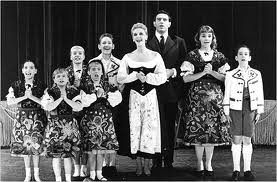 The Sound of Music on stage.