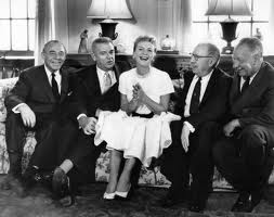 The Sound of Music team with star, Mary Martin.