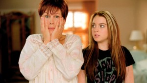 Jamie Lee Curtis & Lindsay Lohan in the movie of the same name!