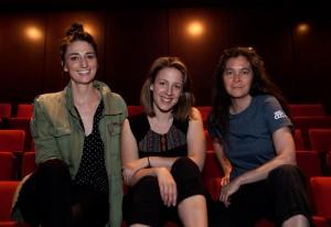 Sara Bareilles, Jessie Mueller and Diane Paulus.