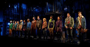 The cast of the recent Off Broadway revival of Rent!